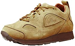 Woodland Mens Camel Leather Sneakers - 7 UK/India (41 EU)