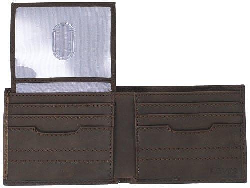 11. Levi's Men's Levis Passcase Wallet with Removable Card Case