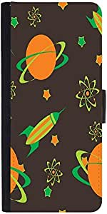 Snoogg Abstract Science Background Designer Protective Flip Case Cover For Sa...