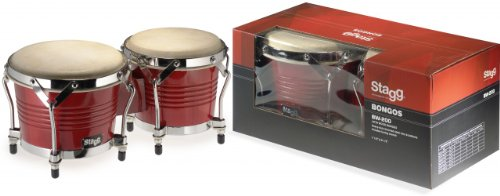 Stagg BW-200-CH Latin Wooden Bongos
