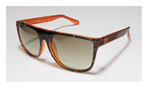 Guess 6837 Mens/Womens Designer Full-rim 100% UVA & UVB Lenses Sunglasses/Shades (58-16-140, Tortoise / Brown) (Ball Maker Original Best Ice compare prices)