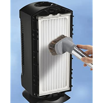 Hamilton Beach TrueAir Allergen-Reducing Ultra Quiet Air Cleaner Purifier with Permanent HEPA Filter (04386A)