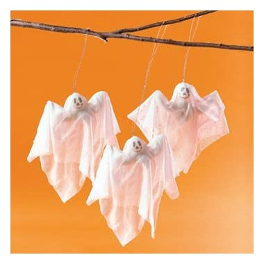 Chiffon Ghosts - Party Decorations & Hanging Decorations