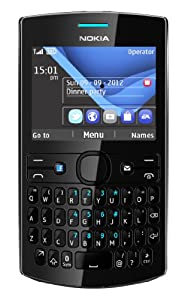 Nokia Asha 205 Sim Free Mobile Phone - Black