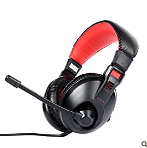 Generic Kids Gear Wired Headphone Red