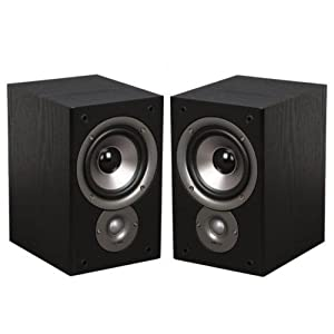 Polk Audio AM3095-A Monitor30 Series II Two-Way Bookshelf Loudspeaker (Black) Pair