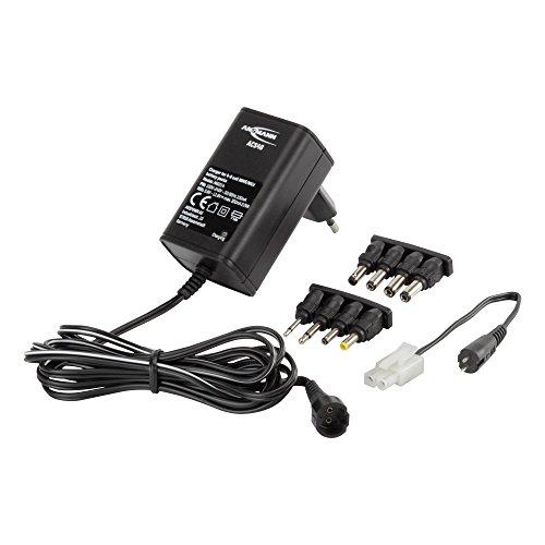 ANSMANN-1001-0024-ACS-48-Ladegert-fr-4-8-zellige-NiMHNiCd-Akkupack-48V-96V-inkl-Adapterkabel-schwarz