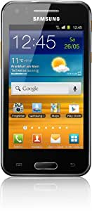 Samsung Galaxy Beam i8530 Smartphone (10,2 cm (4 Zoll) Touchscreen, 5 Megapixel Kamera, 3G mit HSPDA, Android 2.3) ebony-gray