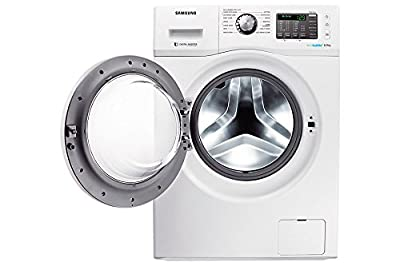 Samsung WF600U0BHWQ/TL Fully-automatic Front-loading Washing Machine (6 Kg, White)