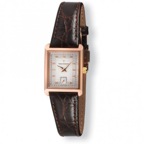 Dreyfuss Ladies Brown Leather Strap Watch DLS00011-06 DLS00011-06