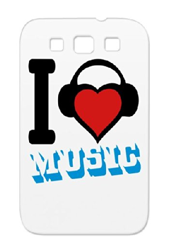Music Dirtproof Red Metal Dance Hiphop Rock`Nroll Music Headphones Rock Sound Disco Country Classic R&Amp;B Birthday Headphone Fun Records Dj Jazz Party Dance Electronica Rock And Roll Pop Sounds Urban For Sumsang Galaxy S3 Protective Case