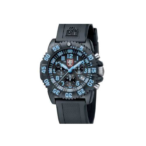 Navy Seal Chronograph Black/Blue A.3083