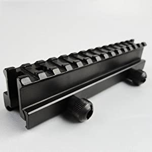 "New Gen. Flat Top 1"" Riser See-thru Mount for Weaver Rail"