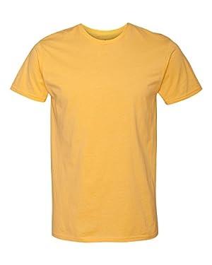 Hanes 4.5 oz.; 100% Ringspun Cotton nano-T� T-Shirt - VINTAGE GOLD - S