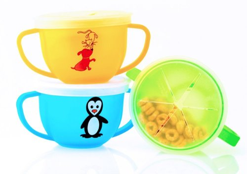 3 Pack Snack Trap (colors may vary)