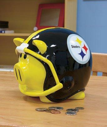 NFL Steelers Piggy Bank