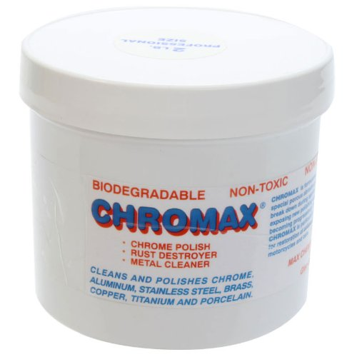 Chromax Metal Cleaner Polish, 2lb Jar