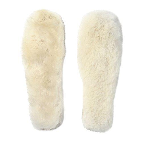 密度しっかり あったか ウールインソール / 防寒効果 バツグンの 靴の中敷 / 選べる 豊富なサイズ 【WL Products】WIS475 (ウール, 39(約24.5))