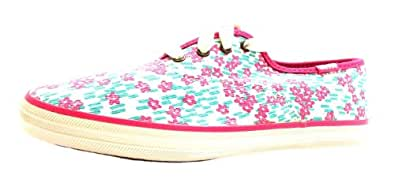 Size 13 Keds Girl's Champion Cvo Canvas Casual Shoes