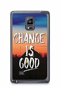 YuBingo Change is Good Designer Mobile Case Back Cover for Samsung Galaxy Note 4 Edge