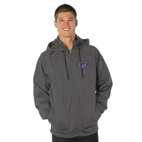 NCAA Kansas State Wildcats Transit Full Zip Hood, Black, X-Large at Amazon.com