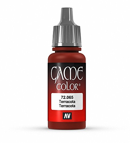Vallejo Game Color Terracotta Paint, 17ml