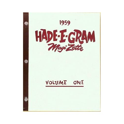 Hade E Gram Magizette [Volume One]: Micky Hades:  Books