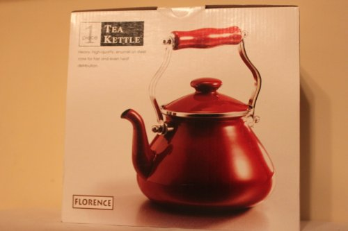 Florence Tea Kettle (Red)