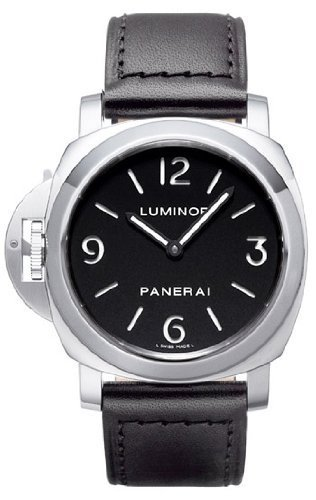 Panerai Men's PAM00219 Luminor Base Lefty Crown Watch