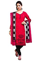 Rajnandini women's Cotton Unstitched salwar suit Dress Material