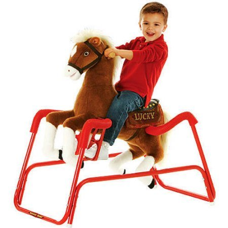 teknek-soft-plush-material-rockin-rider-lucky-the-deluxe-talking-plush-animated-spring-horse