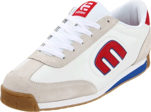 Etnies Men's Lo-cut Ii Ls Suede White/Blue/Red Lace Up 4101000365 11 UK, 12 US