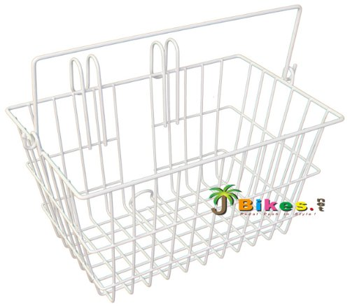 Micargi Lift-off with Handle Portable/hanging Beach Cruiser Bicycle Bike Basket White