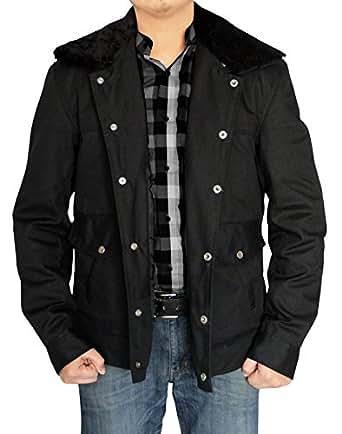 Outfitmakers Mens Zac Efron That Awkward Moment Jacket (XXS, Black)