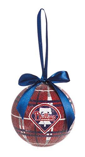 100Mm Led Ball Ornament, Philadelphia Phillies