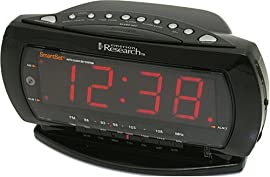 Emerson CKS2235B Jumbo Display Dual-Alarm Clock Radio with SmartSet Technology (Black)