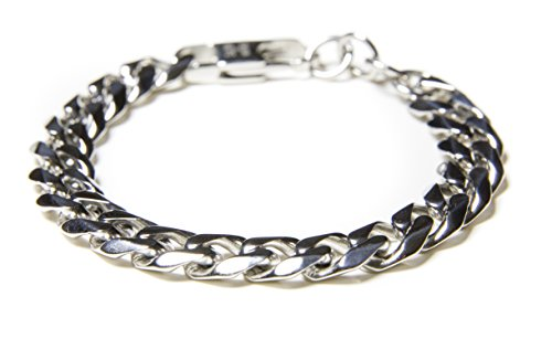 mens-bracelet-gold-or-silver-steel-curb-chain-bracelet-hand-charitable-chain-of-hope-by-benevolence-