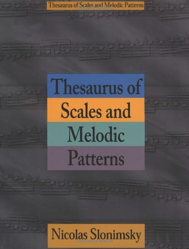 nicolas slonimsky thesaurus of scales and melodic patterns pdf download