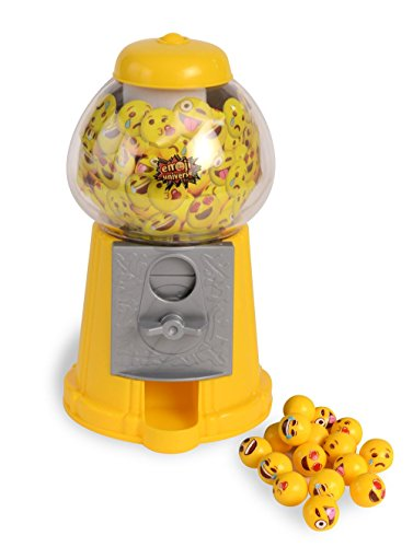 Emoji Gumball Machine; Gumball Bank with Starter Gumballs (Money Vending Machine compare prices)