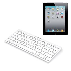 Merkury Innovations Bluetooth Keyboard for iPad/iPhone/iPod (M-BTWK)