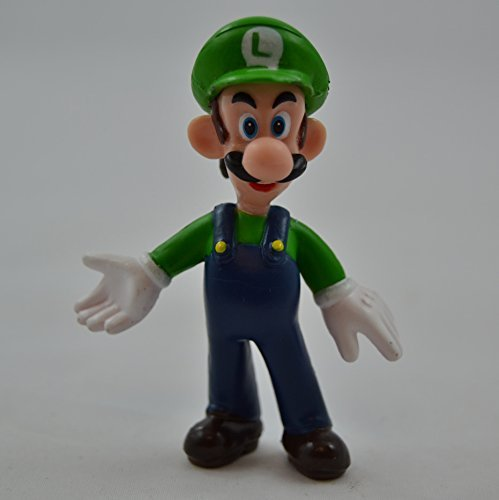 "Super Mario Bros Game Mini Figure 3"" Luigi Toy - 1"