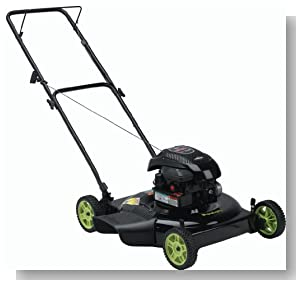 Poulan PO500N22S 22-Inch Side Discharge Push Mower with 4.75 HP Briggs & Stratton Engine