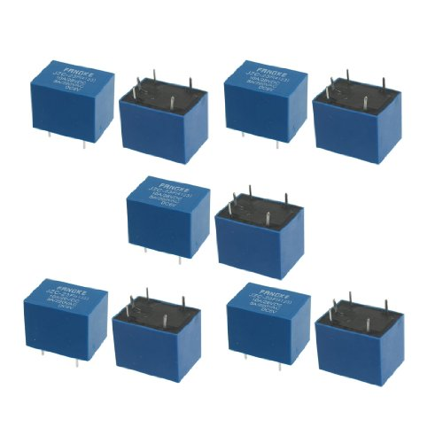 10 Pcs Jzc-23F(4123) Dc 6V Coil Spdt 5-Pin Pcb Type Mini Power Relays back-164099
