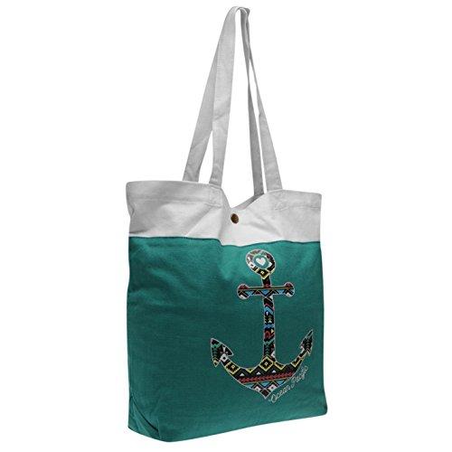 ocean-pacific-anchor-print-tote-bag-womens-teal-white-ladies-shopper-handbag-h-38cm-w-315cm-d-65cm