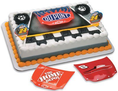 Nascar Tony Stewart Hood Cake Topper By Decopac