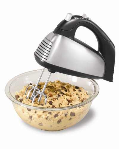 Hamilton Beach 62650 6-Speed Classic Hand Mixer, Silver