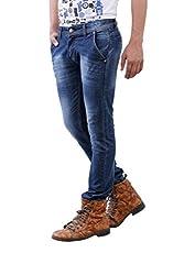 JCTex Men's blue In pocket slim fit Jeans 30
