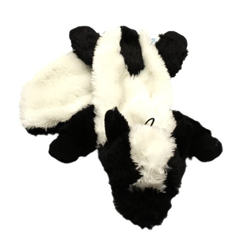 Happy Pet Unstuffed Skunk Character Soft Dog Toy