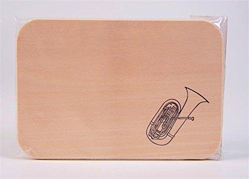 Brotzeitbrett-Tuba-Schnes-Geschenk-fr-Musiker