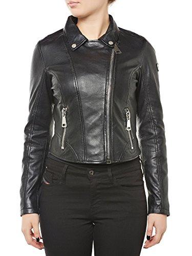 Gipsy Carlie giacca in pelle nero XS